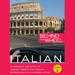 Behind the Wheel - Italian 1 Book Cover - Click to open Behind the Wheel panel
