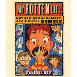 My Rotten Life Book Cover - Click to open Young Listener panel