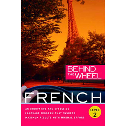 Behind the Wheel - French 2 Book Cover - Click to open Behind the Wheel panel