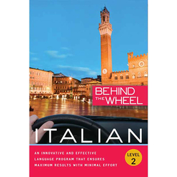 Behind the Wheel - Italian 2 Book Cover - Click to open Behind the Wheel panel
