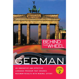 Behind the Wheel - German 2 Book Cover - Click to open Behind the Wheel panel