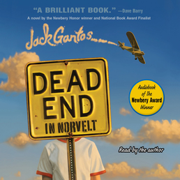 Dead End in Norvelt Book Cover - Click to open Young Listener panel