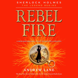 Rebel Fire Book Cover - Click to open Young Listener panel
