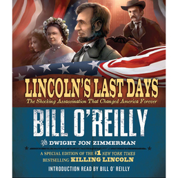 Lincoln's Last Days Book Cover - Click to open Young Listener panel