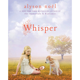Whisper Book Cover - Click to open Young Listener panel