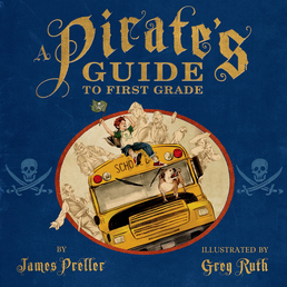 A Pirate's Guide to First Grade Book Cover - Click to open Young Listener panel