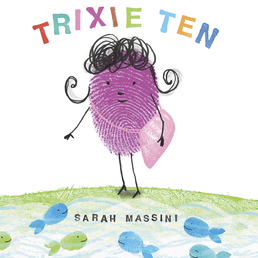 Trixie Ten Book Cover - Click to open Young Listener panel