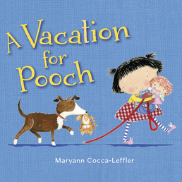 A Vacation for Pooch Book Cover - Click to open Young Listener panel