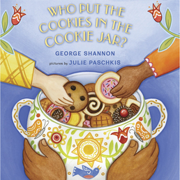 Who Put the Cookies in the Cookie Jar? Book Cover - Click to open Young Listener panel