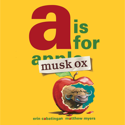 A Is for Musk Ox Book Cover - Click to open Young Listener panel