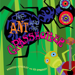 The Ant and the Grasshopper Book Cover - Click to open Young Listener panel