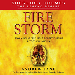 Fire Storm Book Cover - Click to open Young Listener panel