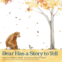 Bear Has a Story to Tell Book Cover - Click to open Young Listener panel
