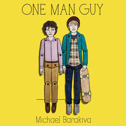 One Man Guy Book Cover - Click to open Young Listener panel