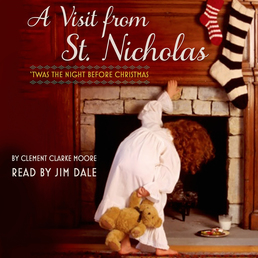 A Visit from St. Nicholas Book Cover - Click to open Young Listener panel