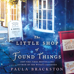The Little Shop of Found Things Book Cover - Click to open Audiobooks panel