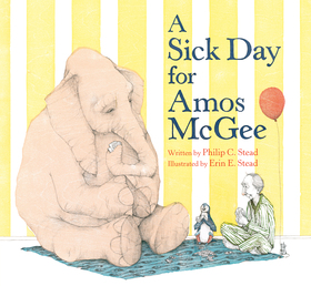A Sick Day for Amos McGee Book Cover - Click to open Young Listener panel