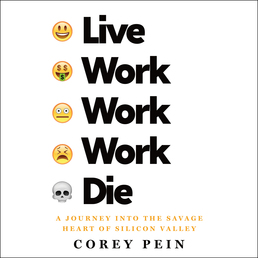 Live Work Work Work Die Book Cover - Click to open Audiobooks panel
