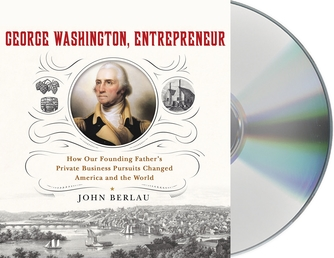 George Washington, Entrepreneur Book Cover - Click to open Audiobooks panel