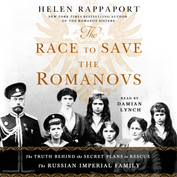The Race to Save the Romanovs Book Cover - Click to open Audiobooks panel
