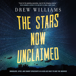 The Stars Now Unclaimed Book Cover - Click to open Audiobooks panel