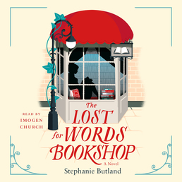 The Lost for Words Bookshop Book Cover - Click to open Audiobooks panel