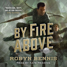 By Fire Above Book Cover - Click to open Audiobooks panel