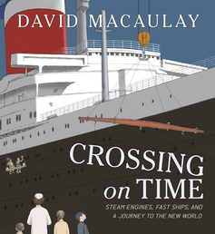 Crossing on Time Book Cover - Click to open Macmillan Kids panel