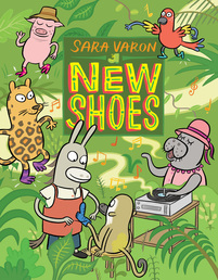 New Shoes Book Cover - Click to open :01 Collection panel