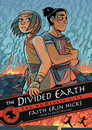 The Nameless City: The Divided Earth Book Cover - Click to open Macmillan Kids panel