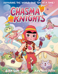 Chasma Knights Book Cover - Click to open :01 Collection panel