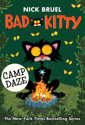 Bad Kitty Camp Daze Book Cover - Click to open Macmillan Kids panel