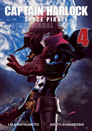 Captain Harlock: Dimensional Voyage Vol. 4 Book Cover - Click to open New Releases panel