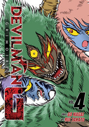 Devilman Grimoire Vol. 4 Book Cover - Click to open New Releases panel