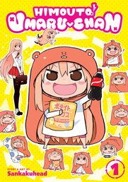 Himouto! Umaru-chan Vol. 1 Book Cover - Click to open New Releases panel