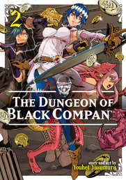 The Dungeon of Black Company Vol. 2 Book Cover - Click to open New Releases panel