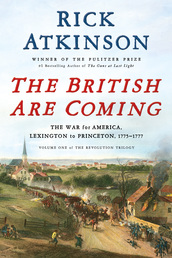 The British Are Coming Book Cover - Click to open Top Sellers panel