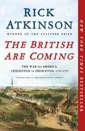 The British Are Coming Book Cover - Click to open Henry Holt panel