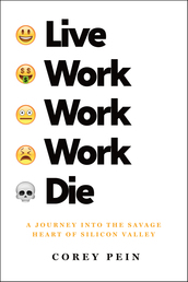 Live Work Work Work Die Book Cover - Click to open Metropolitan Books panel