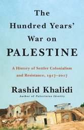 The Hundred Years' War on Palestine Book Cover - Click to open New Releases panel