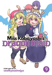 Miss Kobayashi's Dragon Maid Vol. 9 Book Cover - Click to open New Releases panel