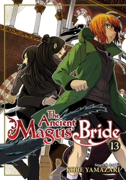 The Ancient Magus' Bride Vol. 13 Book Cover - Click to open New Releases panel