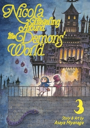 Nicola Traveling Around the Demons' World Vol. 3 Book Cover - Click to open New Releases panel