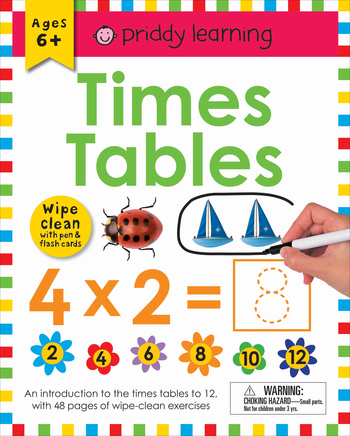 Wipe Clean Workbook: Times Tables (enclosed spiral binding)