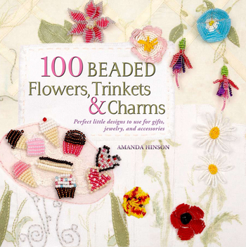 100 Beaded Flowers, Charms & Trinkets