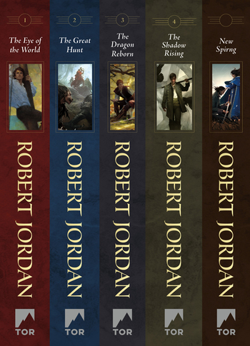 The Wheel of Time, Books 1-4