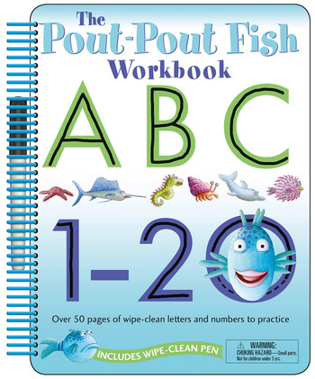 The Pout-Pout Fish: Wipe Clean Workbook ABC, 1-20