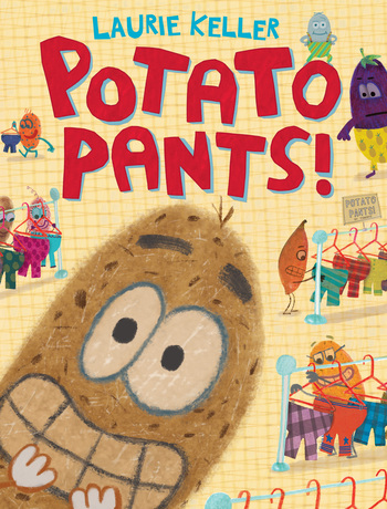 Cover art for the book entitled Potato Pants