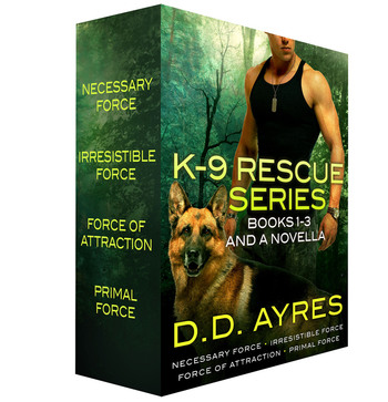 K-9 Rescue Series, Books 1-3 + A Novella