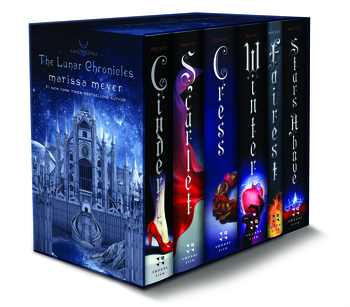 The Lunar Chronicles Boxed Set